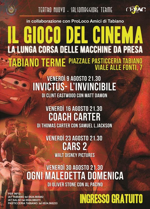 Cinema d'estate a Tabiano