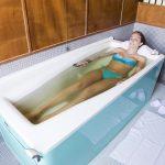 Bagno termale, cura naturale per le malattie della pelle