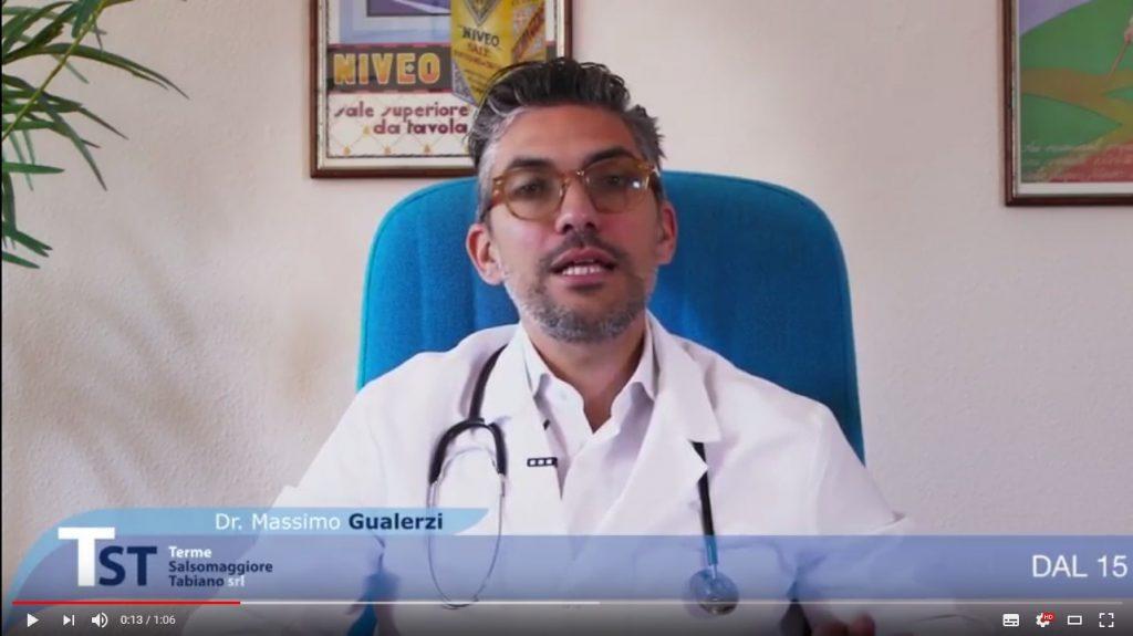Il Direttore Sanitario Massimo Gualerzi sul nostro canale You Tube