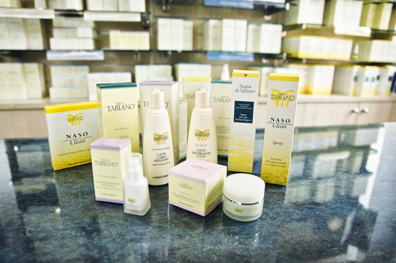 Prodotti cosmetici termali di Tabiano