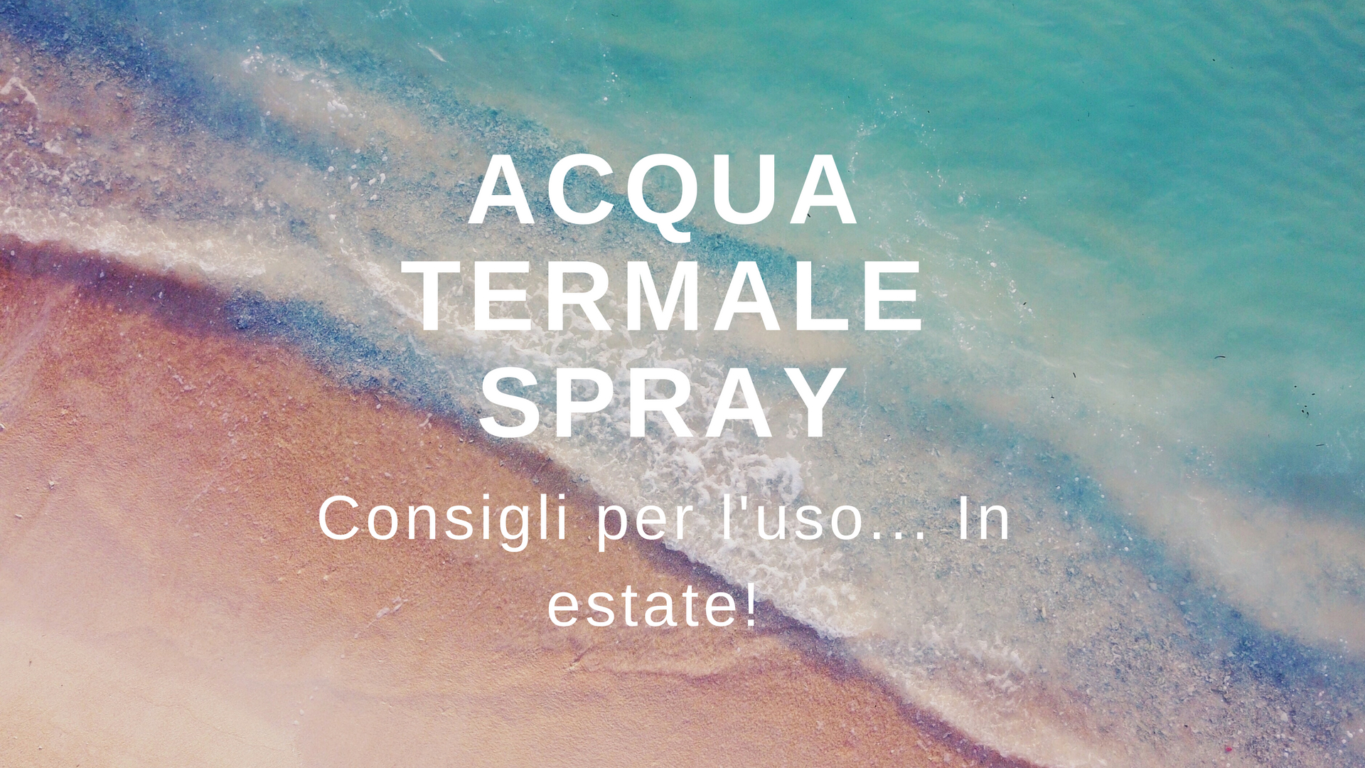 Acqua termaòe spray di Tabiano (Ph. by Alexey Marchenko on Unsplash)