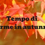 Terme in autunno