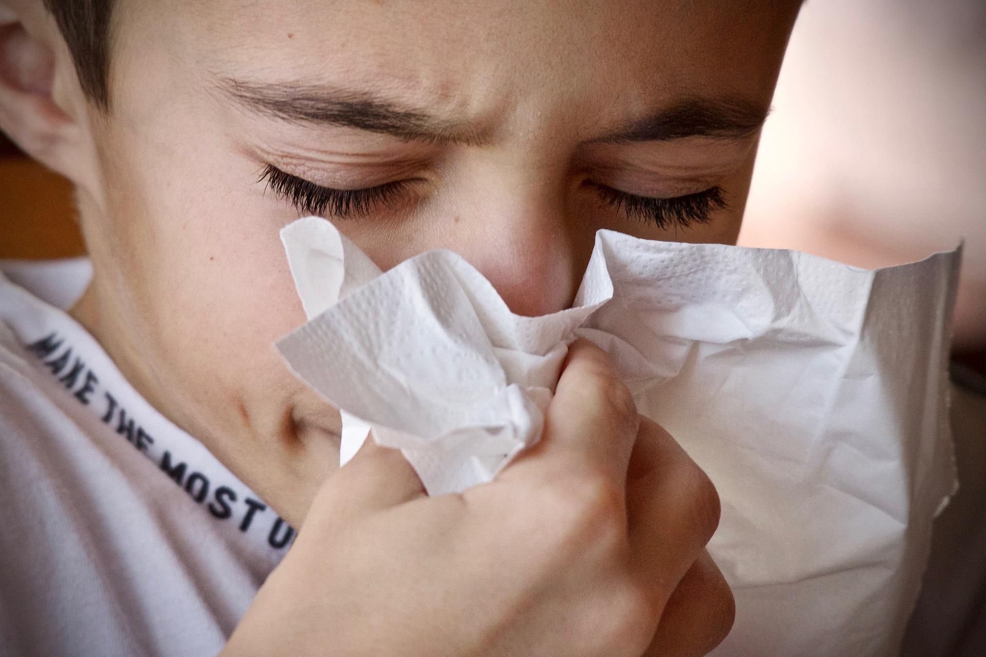 Il raffreddore e il rimedio per i bambini