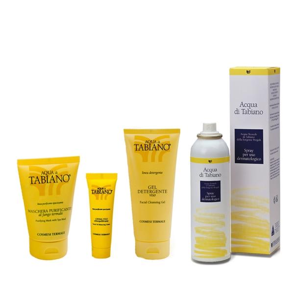 Prodotti termali di Tabiano per la cura dell'acne